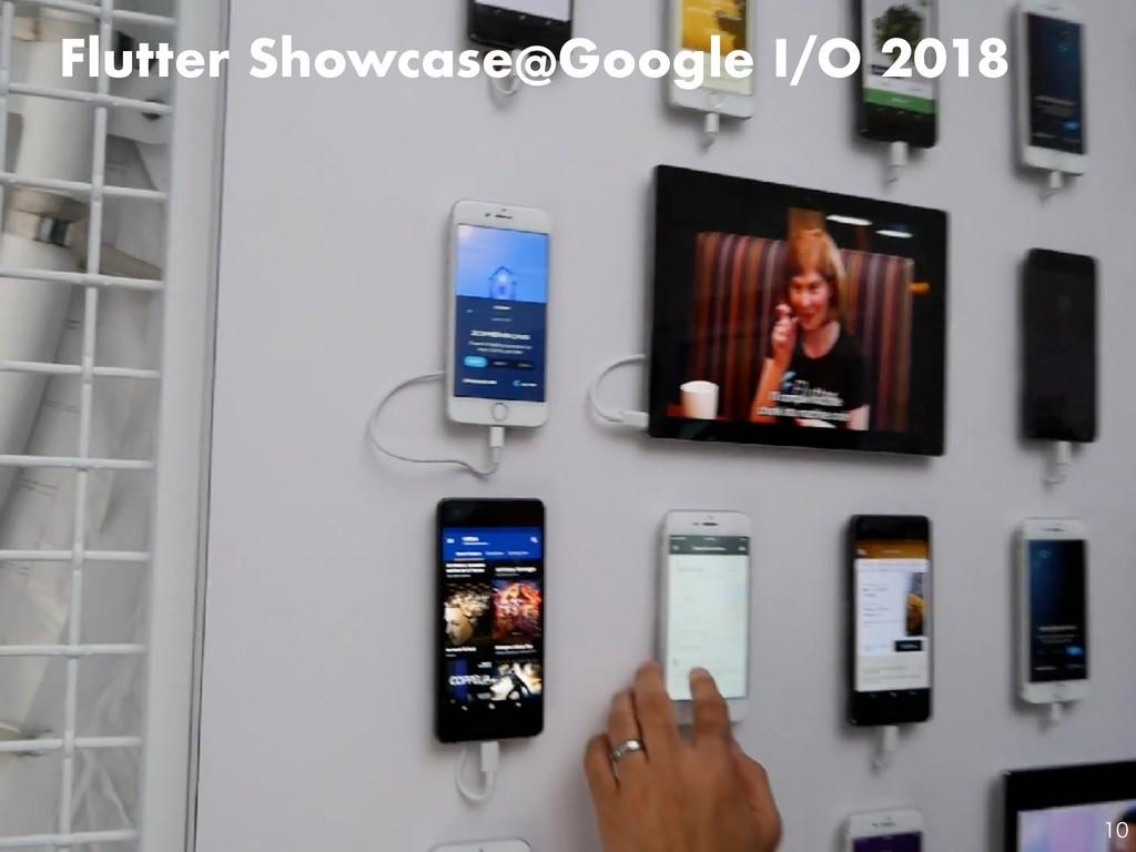 Flutter Showcase@Google I/O 2018