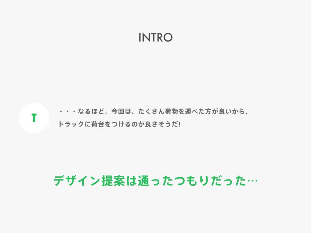 σβΠϯఏҊ௨ͬͨͭΓͩͬͨʜ INTRO T ɾɾɾͳΔ΄Ͳɻࠓճɺͨ͘͞ΜՙΛӡ...
