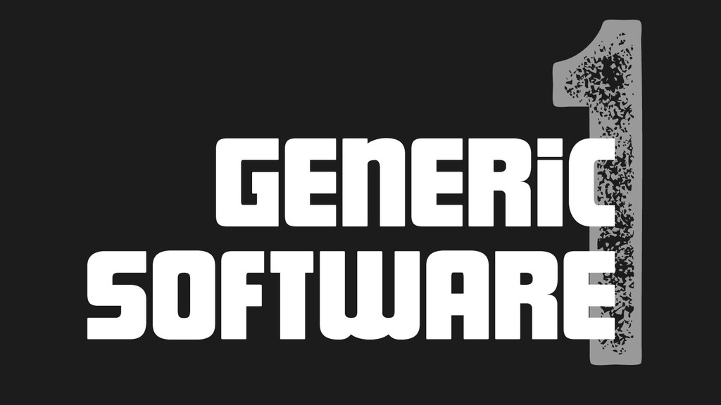 1 Generic software