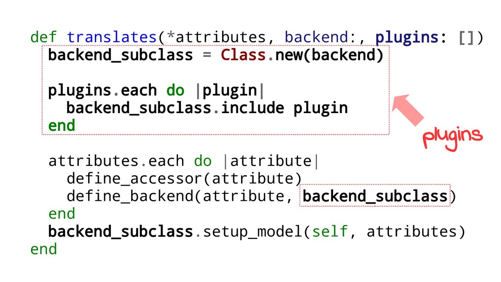 def translates(*attributes, backend:, plugins: ...