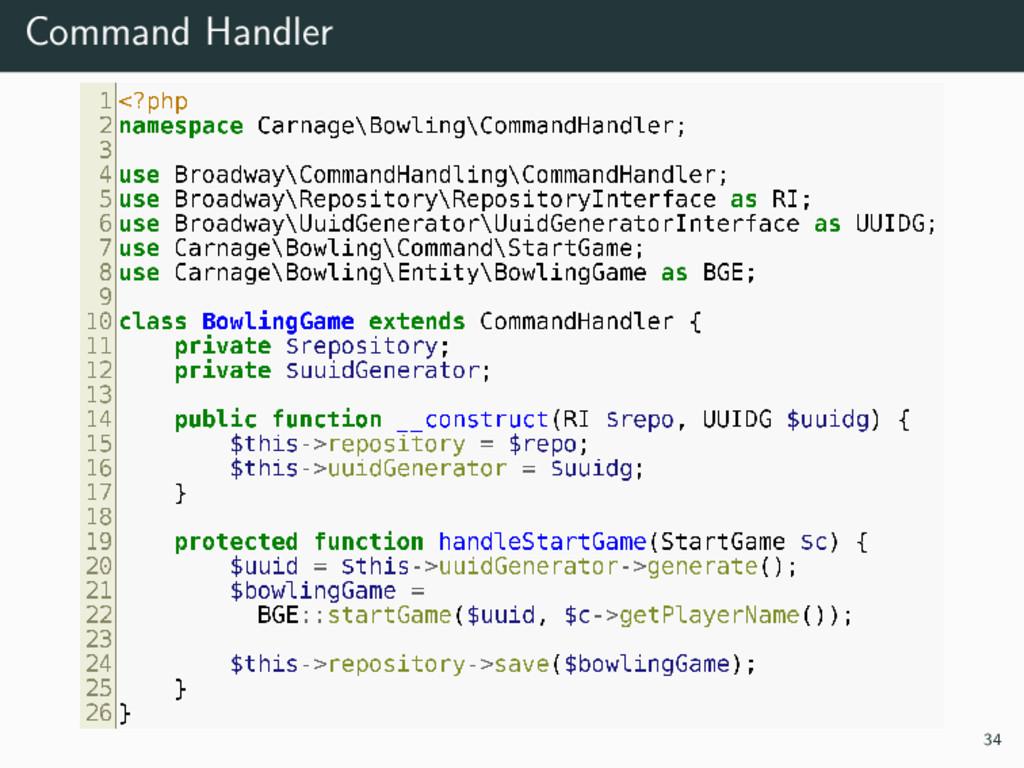 Command Handler 34