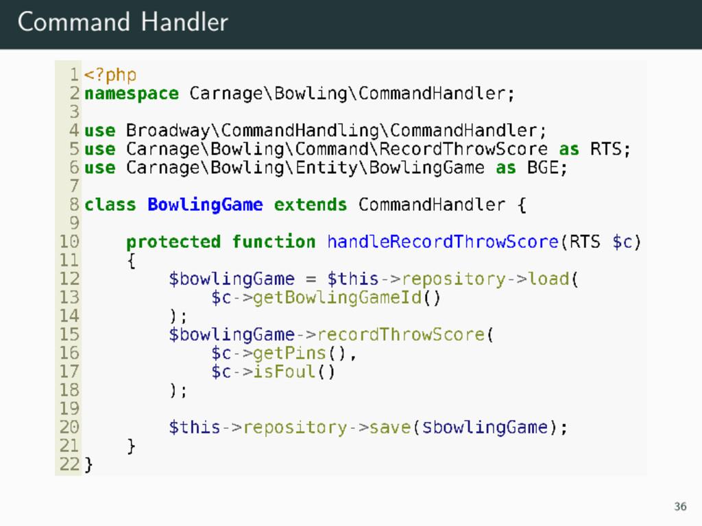 Command Handler 36