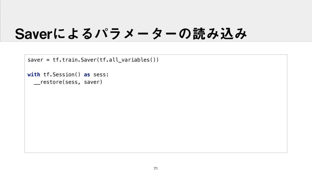 saver = tf.train.Saver(tf.all_variables())  w...