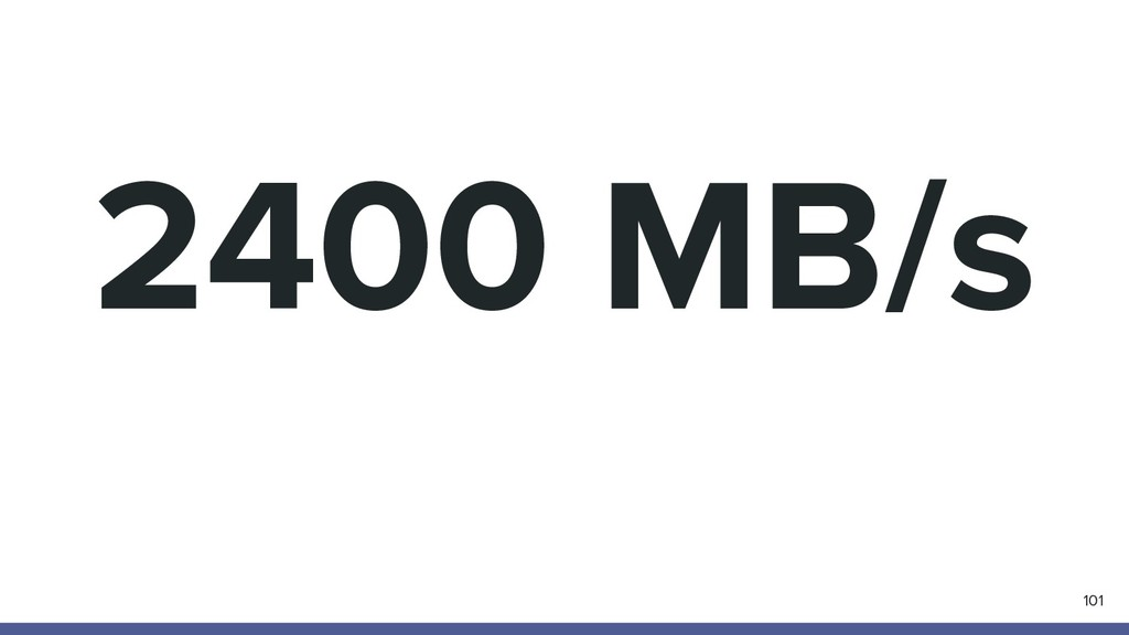 2400 MB/s 101