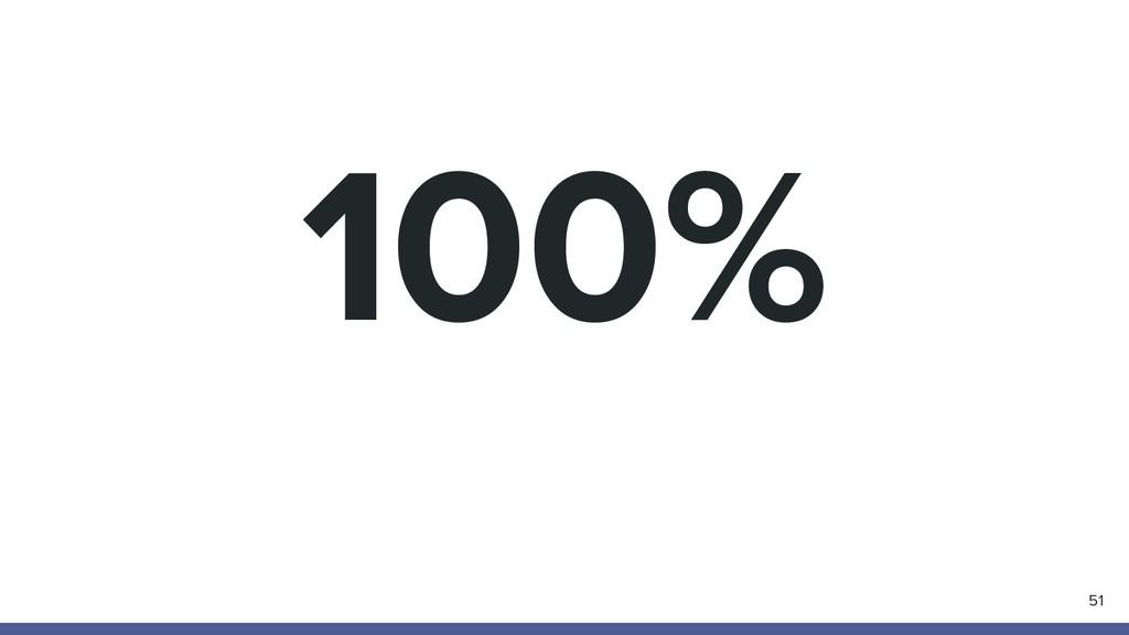 100% 51
