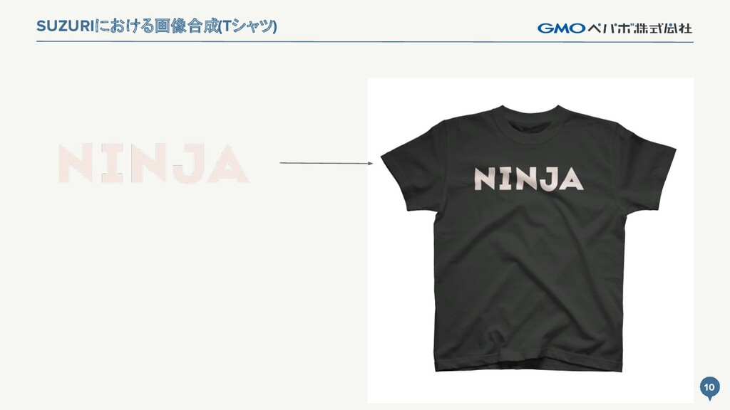 10 SUZURIにおける画像合成(Tシャツ) 10