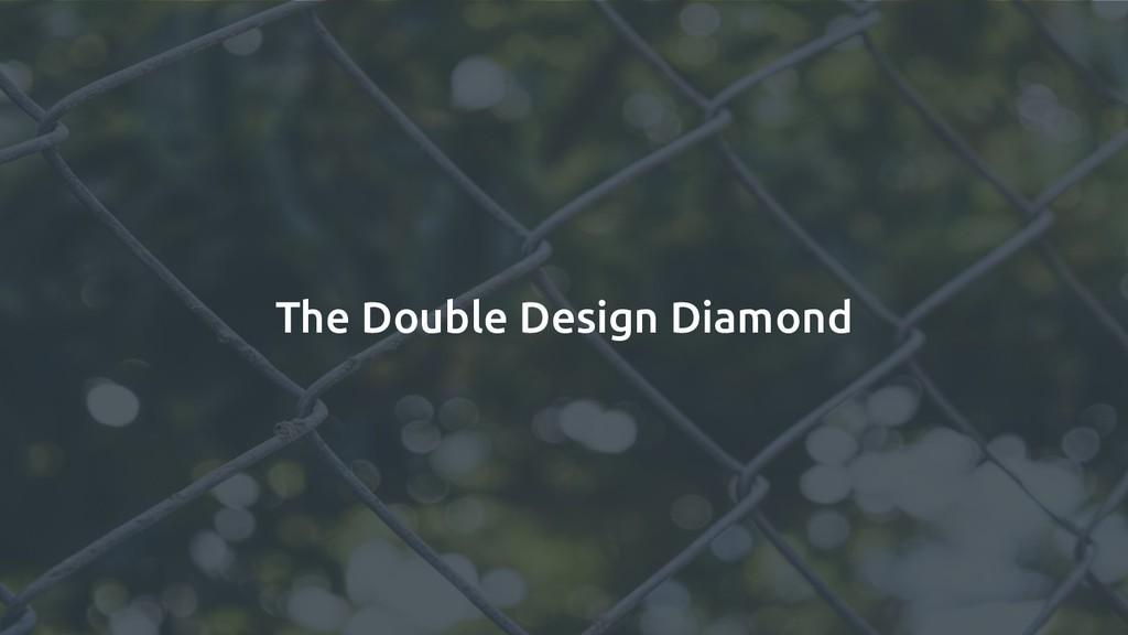 The Double Design Diamond