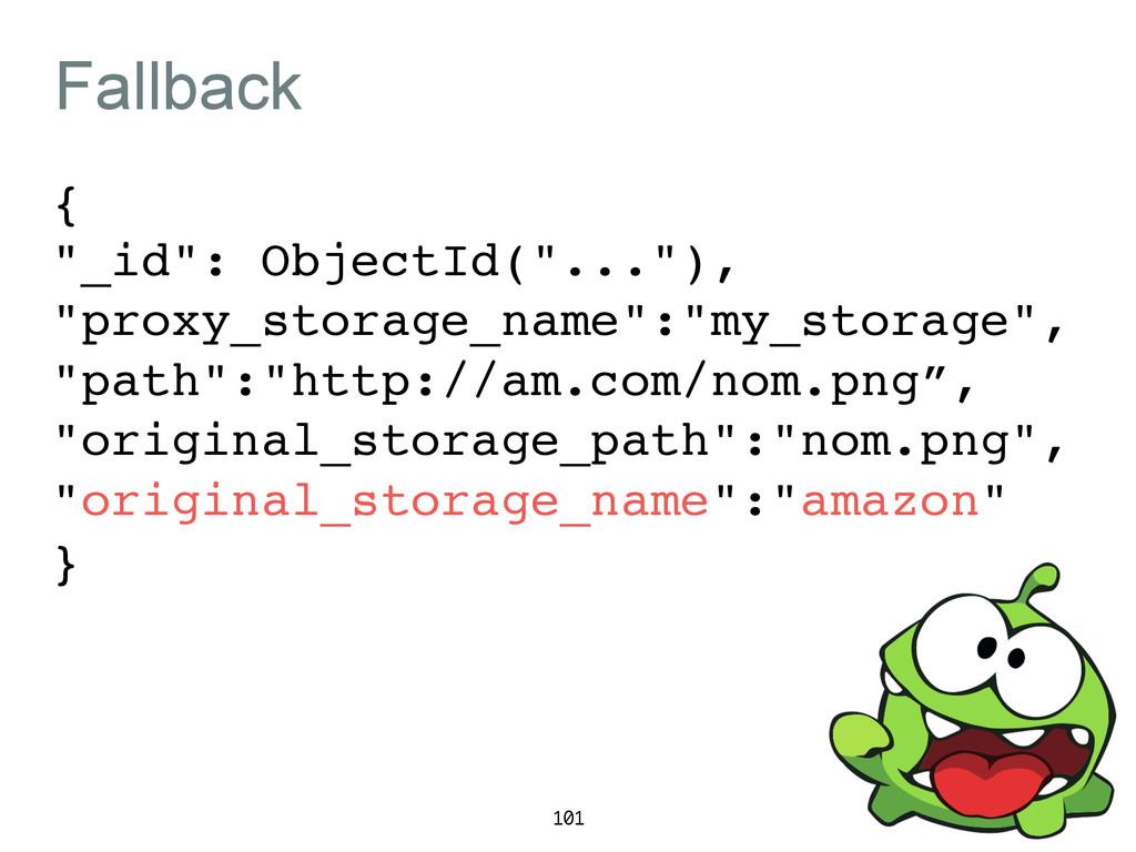 "Fallback {! ""_id"": ObjectId(""...""),! ""proxy_sto..."