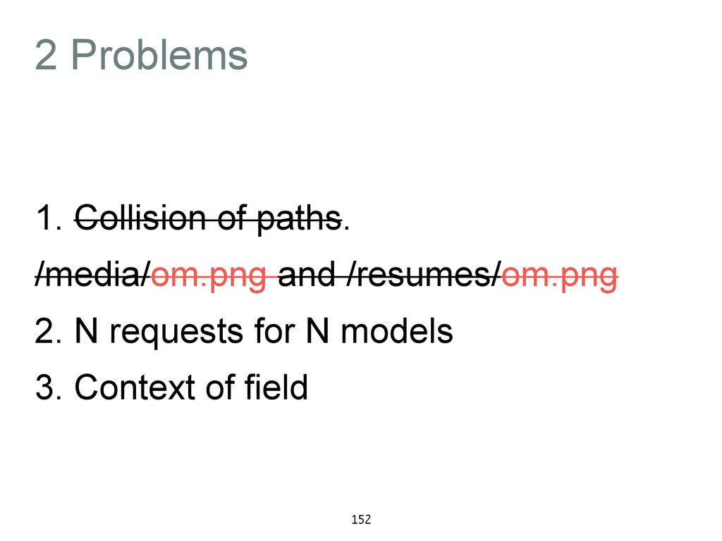 2 Problems 1. Collision of paths. /media/om.png...