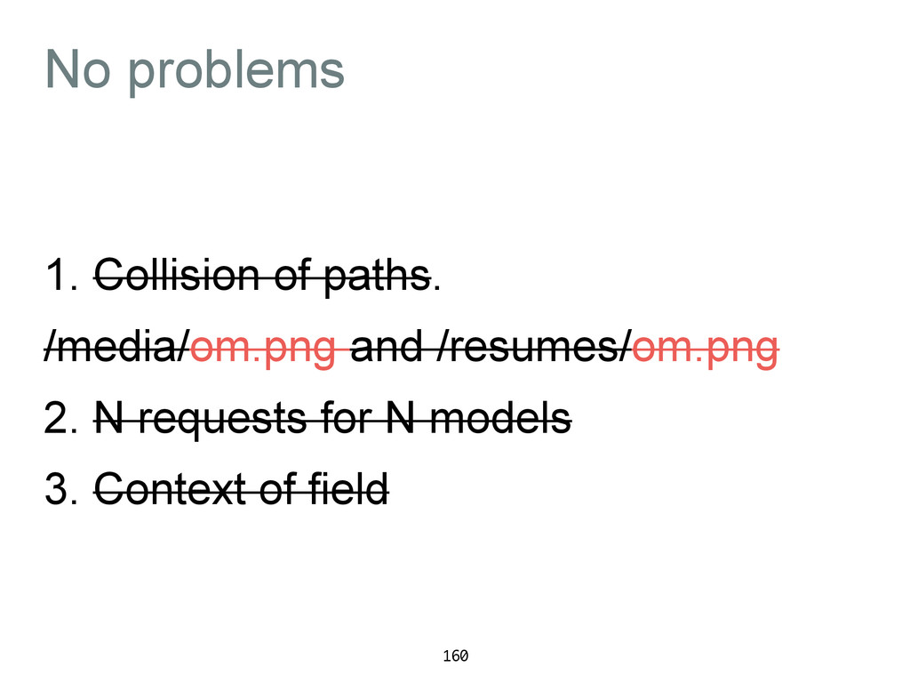 No problems 1. Collision of paths. /media/om.pn...