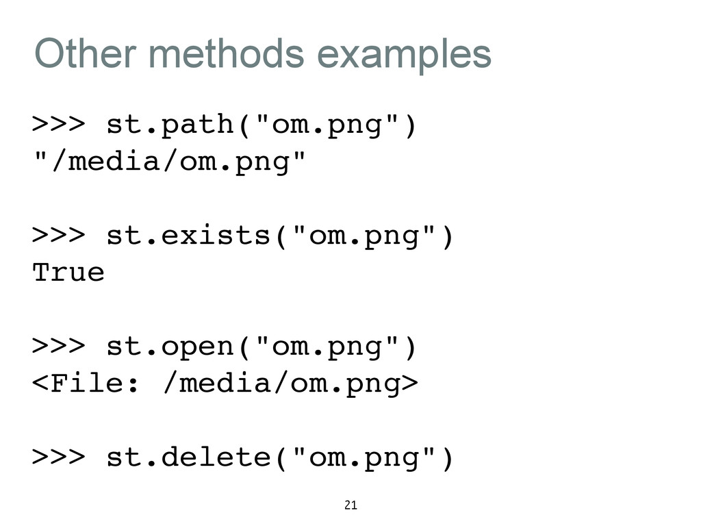 """Other methods examples >>> st.path(""""om.png"""")! """"..."""