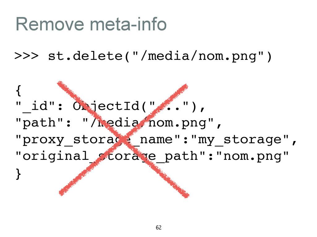 "Remove meta-info >>> st.delete(""/media/nom.png""..."