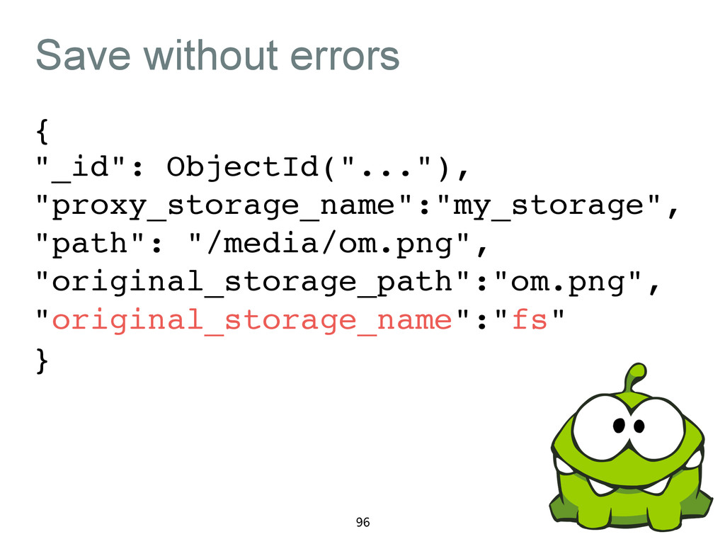 """Save without errors {! """"_id"""": ObjectId(""""...""""),!..."""