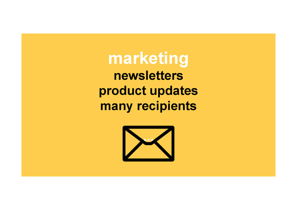 marketing newsletters product updates many reci...