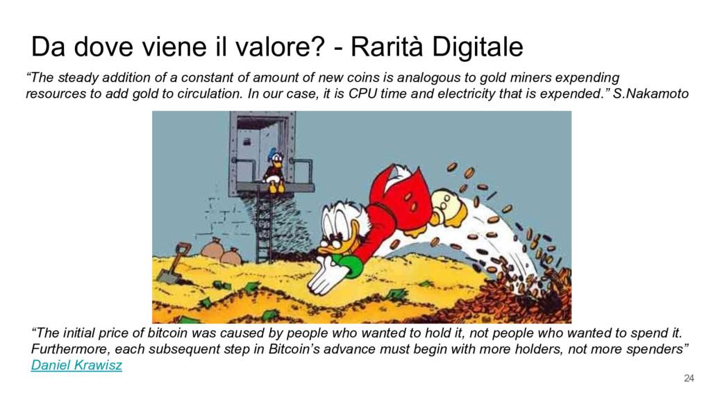 """Da dove viene il valore? - Rarità Digitale """"The..."""