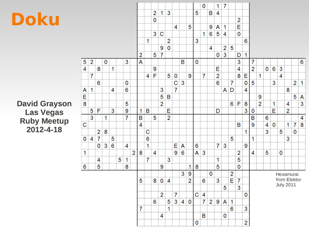 Doku Hexamurai from Elektor July 2011 David Gra...