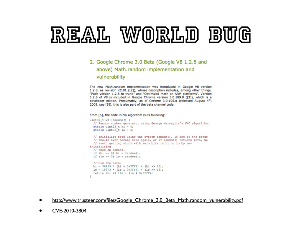 Real world bug • http://www.trusteer.com/files/G...