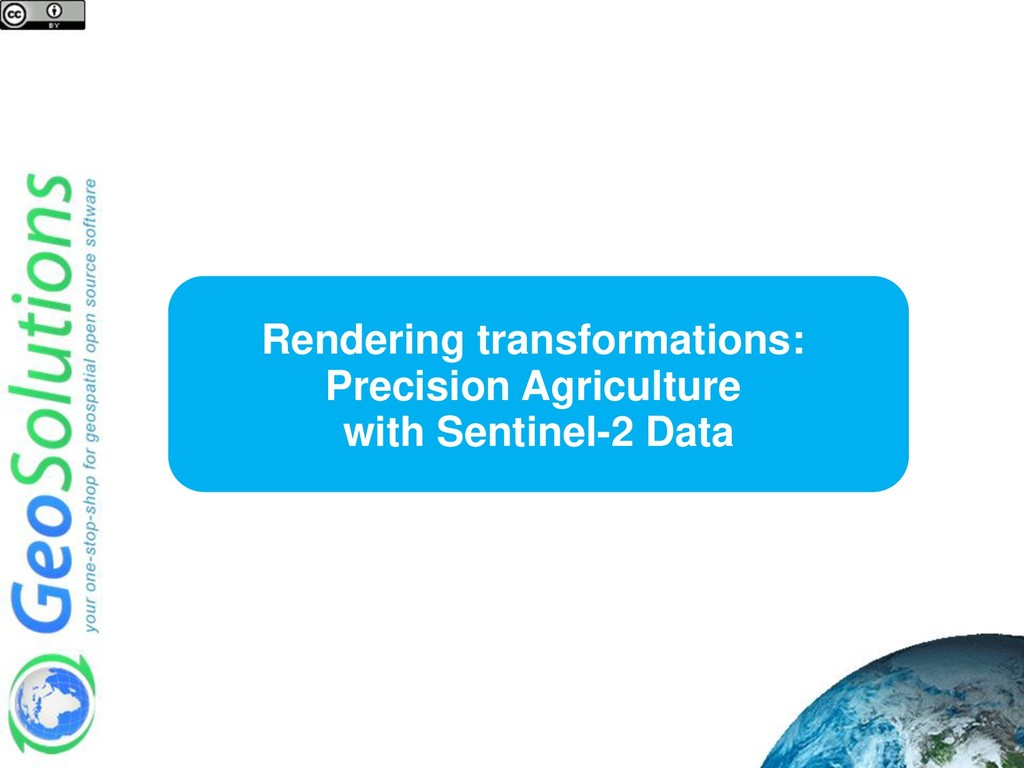 Rendering transformations: Precision Agricultur...