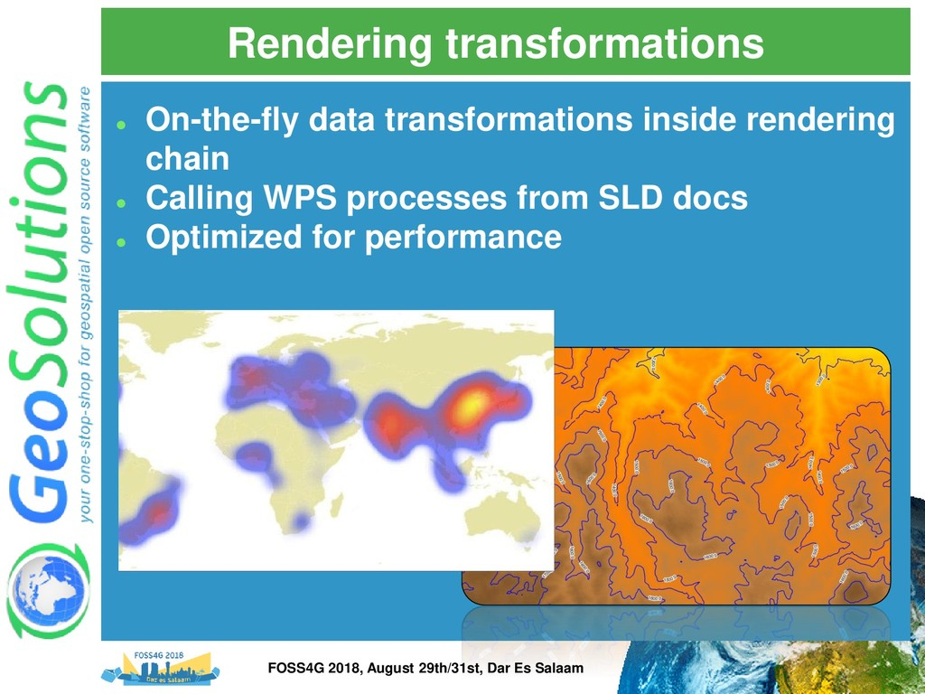 Rendering transformations ⚫ On-the-fly data tra...