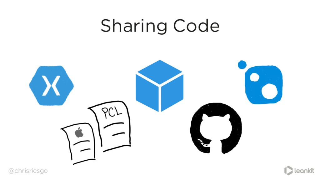 @chrisriesgo Sharing Code