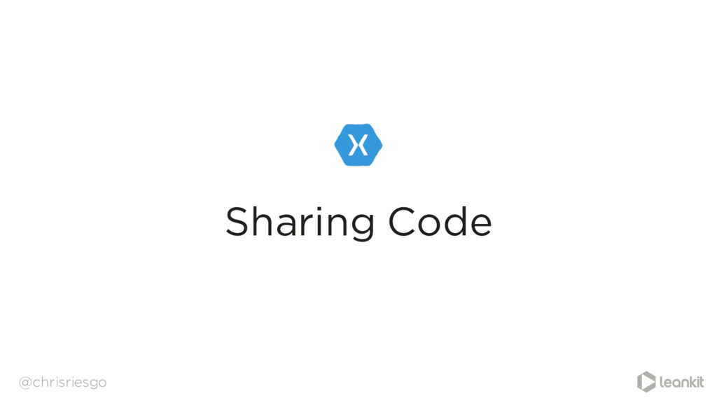 Sharing Code @chrisriesgo