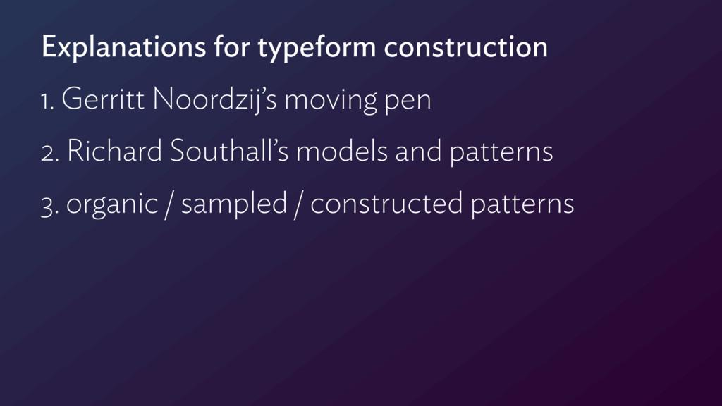 Explanations for typeform construction 1. Gerri...