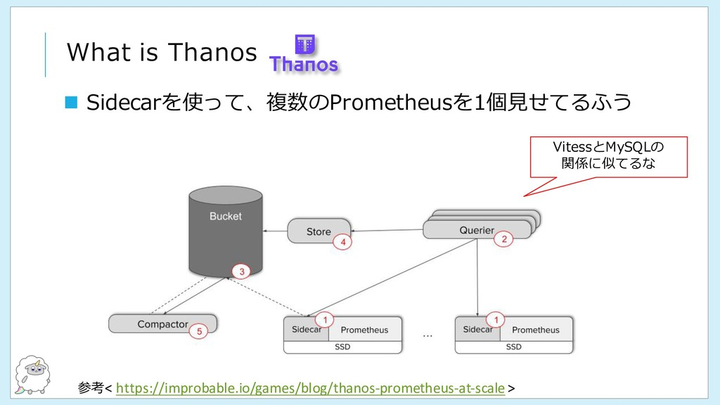 What is Thanos 参考< https://improbable.io/games/...