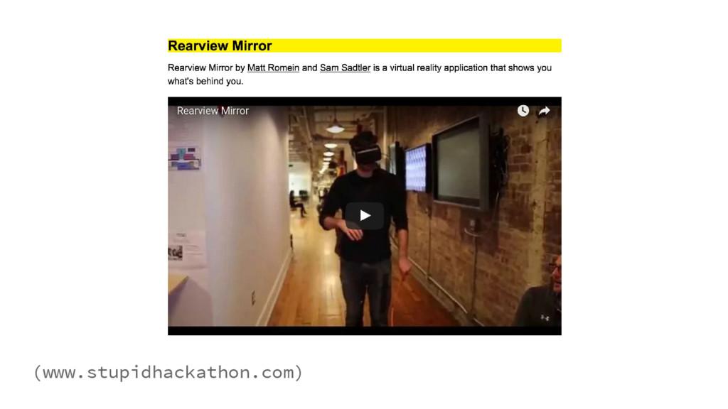 (www.stupidhackathon.com)