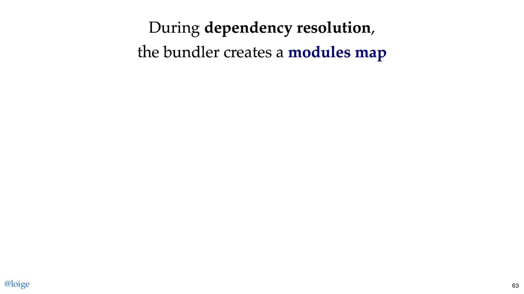 During During dependency resolution dependency ...