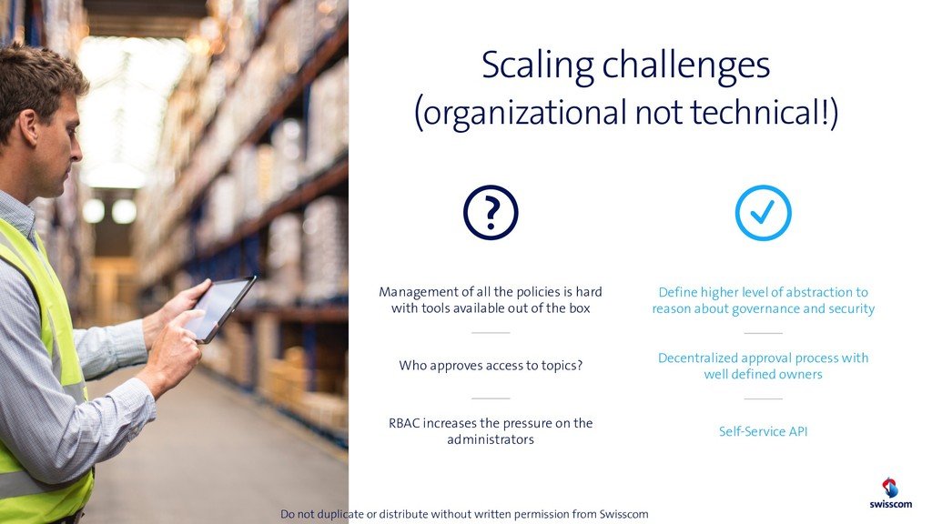 Scaling challenges (organizational not technica...