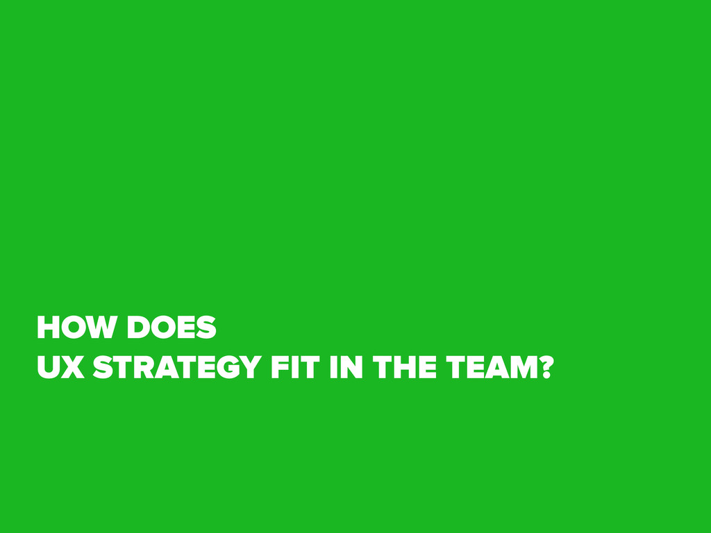 HOW DOES 