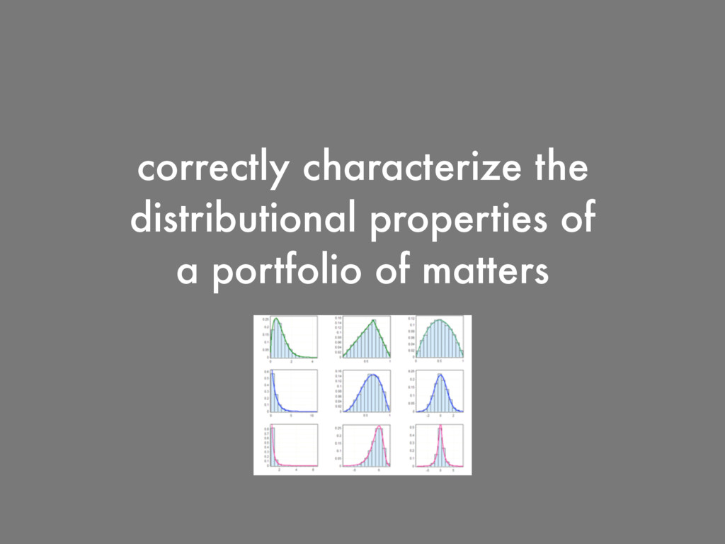correctly characterize the distributional prope...