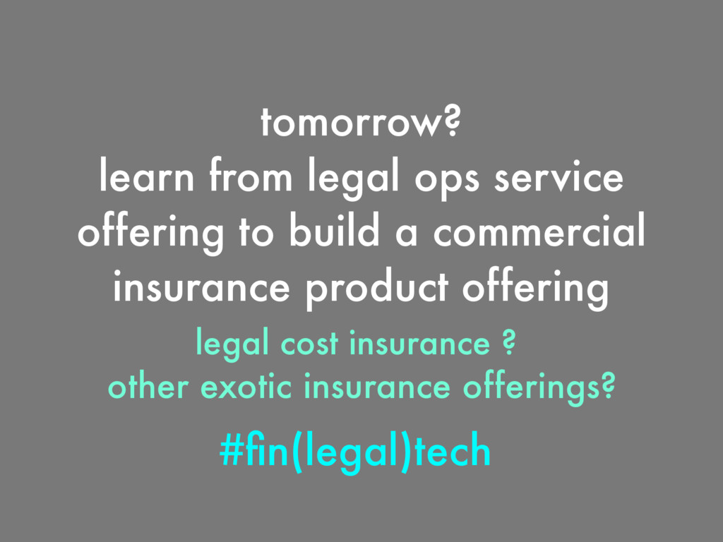 #fin(legal)tech tomorrow? learn from legal ops s...