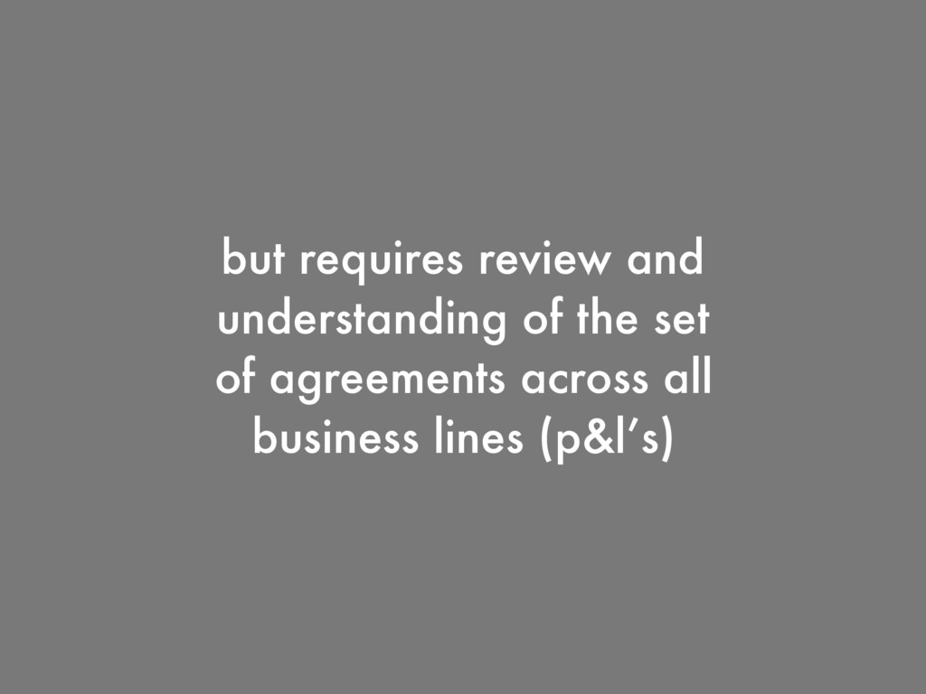 but requires review and understanding of the se...