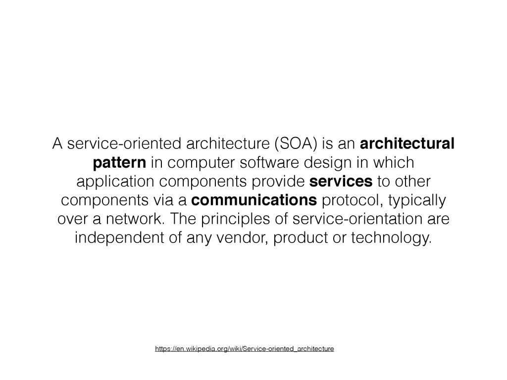 A service-oriented architecture (SOA) is an arc...