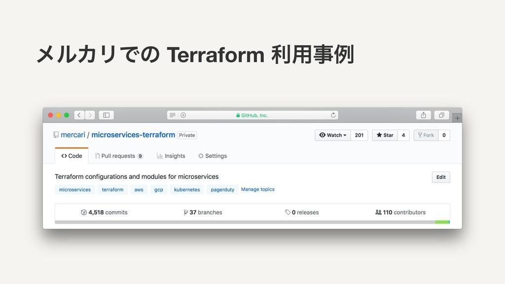 ϝϧΧϦͰͷ Terraform ར༻ྫ