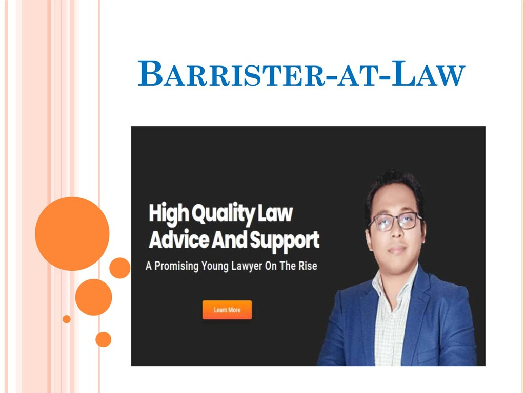 BARRISTER-AT-LAW