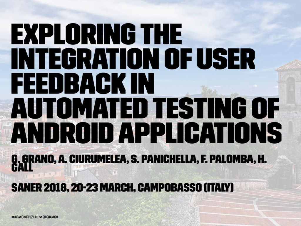 Exploring the Integration of User Feedback in A...