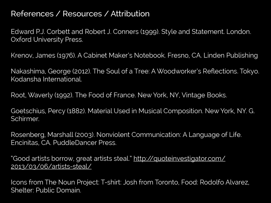References / Resources / Attribution Edward P.J...