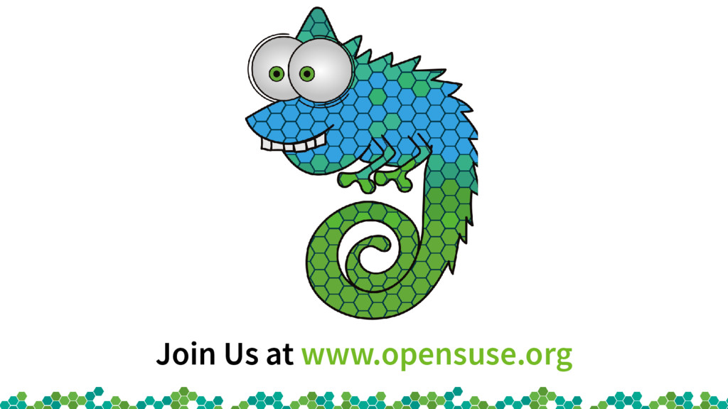 Join Us at www.opensuse.org