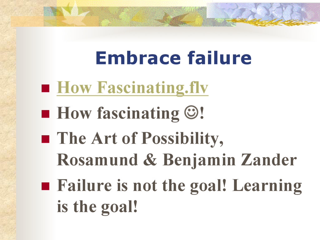 Embrace failure n How Fascinating.flv n How...
