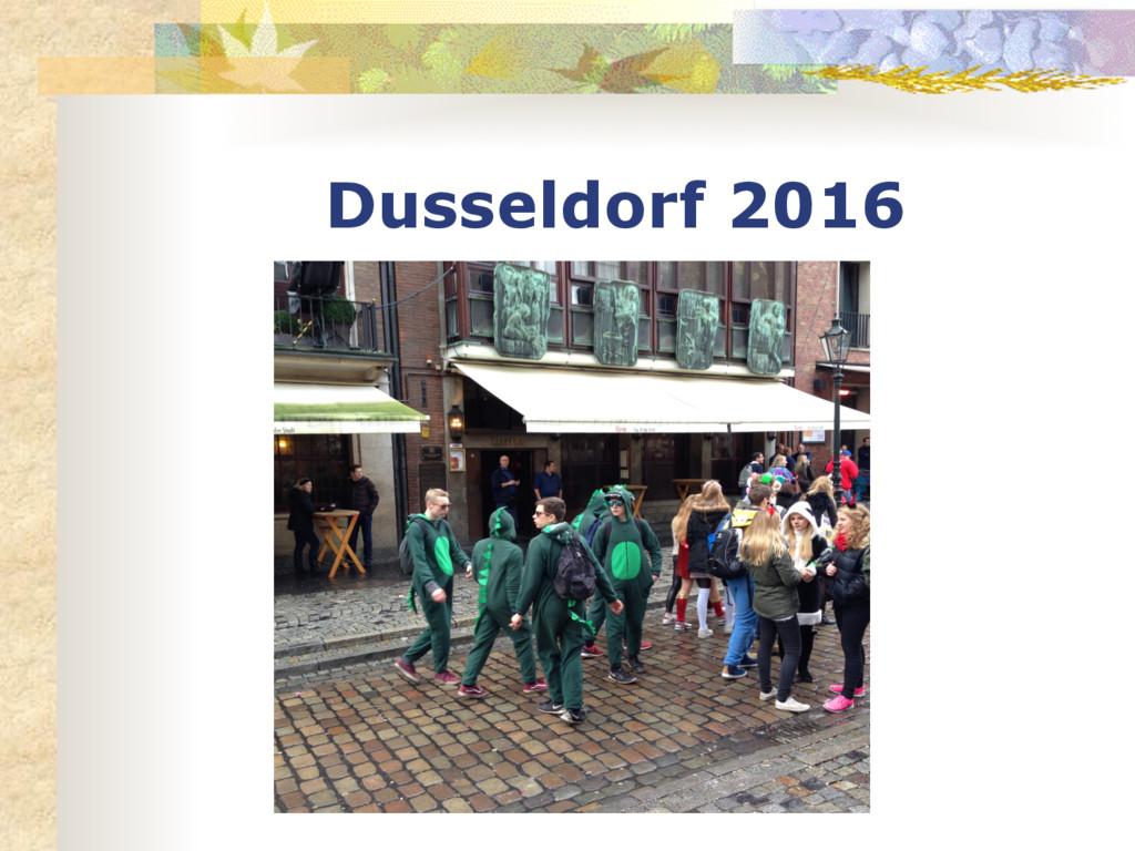 Dusseldorf 2016