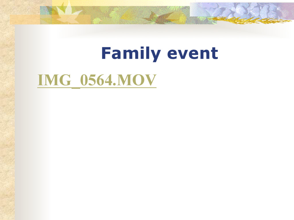 Family event IMG_0564.MOV