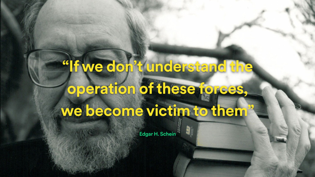 """If we don't understand the operation of these ..."