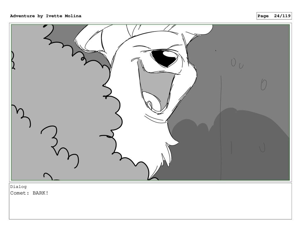 Dialog Comet: BARK! Adventure by Ivette Molina ...