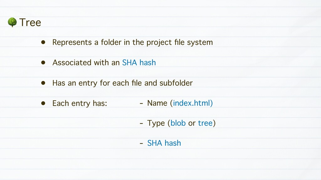 • Represents a folder in the project file system...