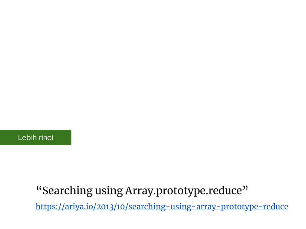 """""""Searching using Array.prototype.reduce"""" https:..."""