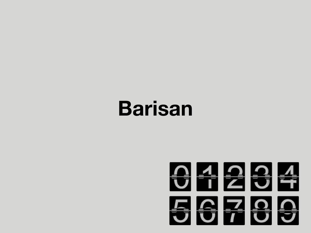 Barisan