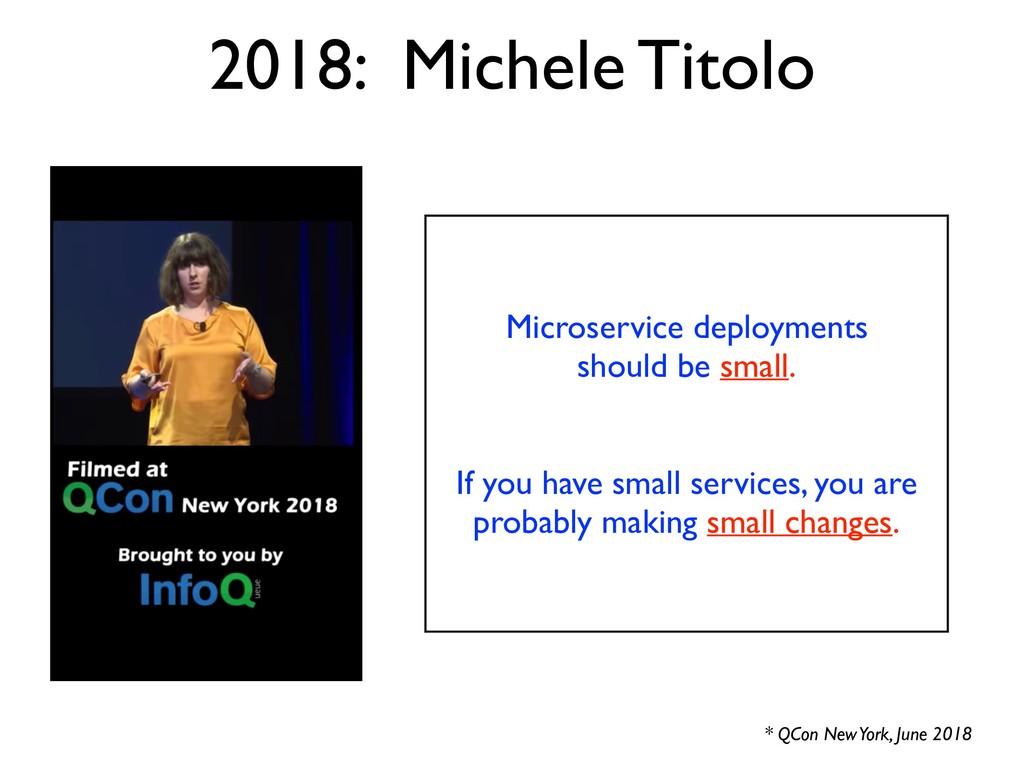 2018: Michele Titolo Microservice deployments s...