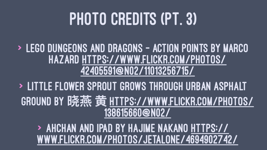 PHOTO CREDITS (PT. 3) > Lego Dungeons and Drago...